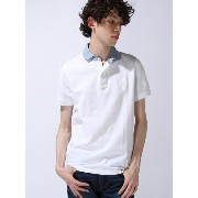 【SALE/40%OFF】TOMMY HILFIGER (M)DENIM COLLAR POLO S/S SF トミーヒルフィガー カットソー【RBA_S】【RBA_E】【送料無料】