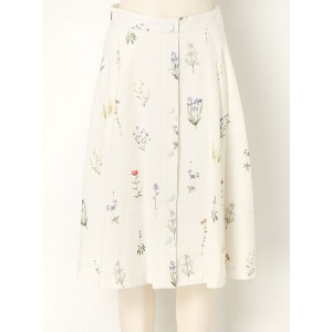 THE SHINZONE BOTANICAL PRINT SKIRT シンゾーン【送料無料】