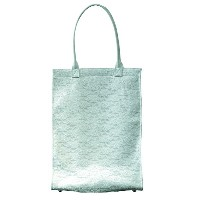 CEMENT PRPDUCE DESIGN Delicacy Lace Toteデリカシー レース トートバッグ 白