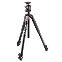 Manfrotto MK055XPRO3-BHQ2 Aluminum 3-Section Tripod with XPRO Ball Head and 200PL QR プレート (海外取寄せ品)