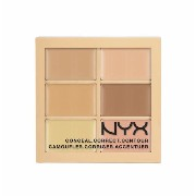 NYX Conceal, Correct, Contour Palette /NYX カラーコレクティング コンシーラーパレット 色[01 Light ライト]