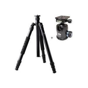 """SIRUI M-3004 4 Section Aluminum Tripod アルミニウム三脚 , Supports 39 lbs., Max Height 69"""" - with"""