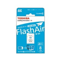 東芝/FlashAir SDHCメモリーカード 8GB/SD-WE008G