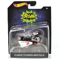 "MATTEL HOTWHEELS 1:50SCALE ""BATMAN CLASSIC TV SIRIES"" ""CLASSIC TV SIRIES BATCYCLE"" マテル ホットウィール 1..."