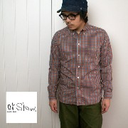 【SALE 20%OFF】orslow オアスロウ 【Men's】WORKERS BD SHIRTS ワーカーズ ボタンダウンシャツ チェック※返品・交換不可