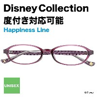 Disney Collection Happiness Line H-2(パープル)【ディズニーコレクション/ミッキーマウス/Mickey Mouse/紫/眼鏡/メガネ/...
