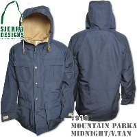 SIERRA DESIGNS (シエラデザインズ) MOUNTAIN PARKA Midnight/Vtan 7910