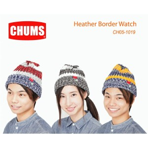 CHUMS チャムス CH05-1019<Heather Border Watch ヘザーボーダーワッチ >※取り寄せ品