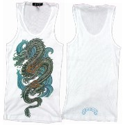 A&G TANKTOP DRAGON[White]