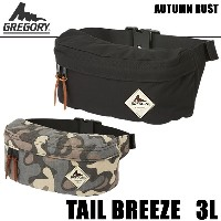 GREGORY グレゴリー ウエストバッグ TAIL BREEZE 3L テールブリーズ ヒップバッグ【s4】