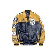 PELLE PELLE REVOLUTION LEATHER JACKET (21524: NAVY PLUSH)ペレペレ/レザージャケット/紺