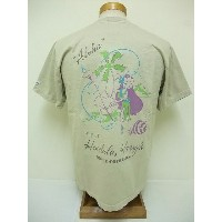 SUN SURF[サンサーフ] Tシャツ TROPIC Harry's COCKTAIL (BEIGE)