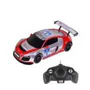 1:18 Scale Audi R8 LMS Performance Model ラジコンカー (COLOR: SILVER/RED) おもちゃ