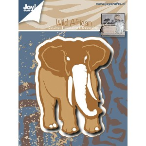 【6002-0477】 ■SUMMER SALE 2017■ Joy! Crafts/ジョイ・クラフツ/ダイ/Elephant 象 ゾウ ぞう Embossing and Debossing...