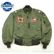 """No.BR13477 BUZZ RICKSON'S バズリクソンズ Type L-2B """"TOPS APPAREL MFG.CO.,INC.""""353rd Fighter-Day Squadron"""