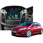 【PAC JAPAN | FDFCUS+HSWset】13y〜 FORD NEW FOCUS 2DIN取付キット(ハザードロックSW付き)