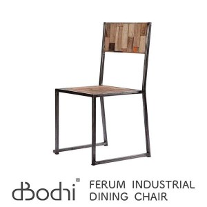 d-Bodhi FERUM INDUSTRIAL DINING CHAIR W46×D46×H87cm ディーボディ フェルム インダストリアル ダイニング チェア 1人掛け チーク古材...