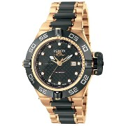インビクタ 時計 インヴィクタ メンズ 腕時計 Invicta Men's 6530 Subaqua Collection Noma IV GMT Automatic Black and Rose...