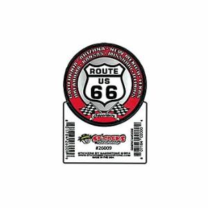 【RT.66 ステッカー スモール】ROUTE66 ルート66 グッズ 雑貨 シール デカール USA 直輸入