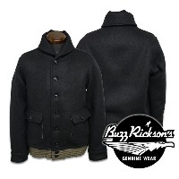 【BUZZ RICKSON'S バズリクソンズ】ジャケット/BR13315/JACKET WOOL BLACK★送料・代引き手数料無料!REAL DEAL
