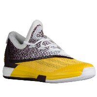 adidas Crazylight 2.5 Boost Lowメンズ White/Yellow/Maroon アディダス バッシュ