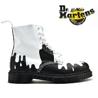 ドクターマーチン Dr.MARTENS 1460 8EYE BOOT CORE PRINT PASCALBLACK/WHITE(ブラック/ホワイト)21079101 1460