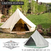 グランピング テント【SHELTER/シェルター】LIMITED EDITION WILD CALIFORNIA MERIWETHER TENT (VENTANA/GREEN) アウトドア...