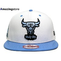 NEW ERA CHICAGO BULLS 【2T 6X BANNER SIDE-PATCH SNAPBACK/WHT-SKY BLUE】 ニューエラ シカゴ ブルズ 9FIFTY スナップバック [帽子 new...