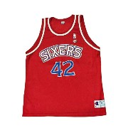 【CHAMPION】NBA SIXERS CHEANEY BASKETBALL JERSEY [RED:XL(48)]/チャンピオン