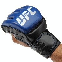 UFC 総合格闘技 UFCグローブ MMA ミット 格闘技Men's Blue/Black UFC Pro MMA Sparring GlovesUFC プロ MMAスパーリンググローブ...