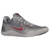 "Nike Kobe 11 Low ""Lower Merion"" メンズ Cool Grey/Team Red/Wolf Grey ナイキ バッシュ コービー11 Kobe Bryant コービー..."