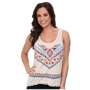 Rock and Roll Cowgirl Knit Tank Top