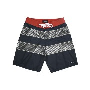 【BRIXTON】BARGE TRUNK BLACK/RED