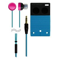Headphone ヘッドフォン / ZUMREED / ZHP-009 Poppin' canal type Earphone ZUM80353 Blue (ブルー) / アクセサリー