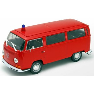1/24 VW バス T2 1972 消防(レッド)[WELLY]《取り寄せ※暫定》