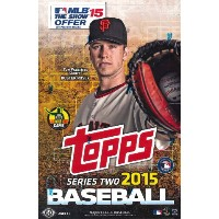 MLB 2015 TOPPS SERIES 2 HOBBY BOX(送料無料)