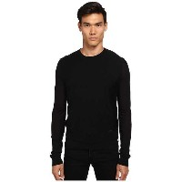 DSQUARED2 Zipper Detail Crew Neck Sweater