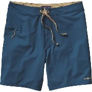 パタゴニア Patagonia メンズ 水着 ボトムのみ【Solid Stretch Planing Board Short】Glass Blue