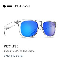 DOT DASH(ドットダッシュ) ae217d06-crx サングラス KERFUFFLE/CRX/Crystal/Light Blue Chrome/AE217D06 日本正規品