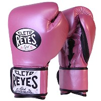 Cleto Reyes フィット カフ Boxing Training グローブ - スモール - ピンク メタリック (海外取寄せ品)