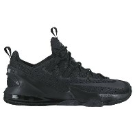 "Nike LeBron XIII 13 Low ""Triple Black"" メンズ Black/Reflective Silver/Anthracite ナイキ バッシュ レブロン・ジェームス..."