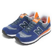 レディース 【NEW BALANCE】 ニューバランス WL574CPM 16FW NAVY/OR(CPM)