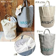 ランドリーバッグ 「WASH IT!」LAUNDRY HAMPER