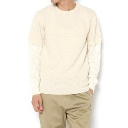 <TODD JAPAN LINE>Layered Sweater【トッドスナイダー/TODD SNYDER】