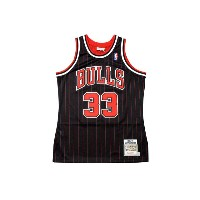 MITCHELL&NESS AUTHENTIC THROWBACK JERSEY (CHICAGO BULLS 1995-96/SCOTTIE PIPPEN: BLACK)ミッチェル&ネス...