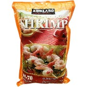 KIRKLAND Cooked Tail-off Shrimp 調理済みエビ 尾無し 908g