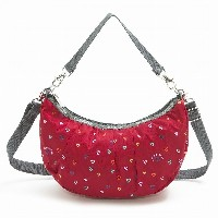 LeSportsac レスポートサック トートバッグ 8058 SMALL VERONICA HOBO D636 Love Drops Red [並行輸入商品]