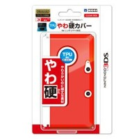 【3DS】TPUやわ硬カバー for ニンテンドー3DS クリアレッド 【税込】 ホリ [3DS-067]【返品種別B】【RCP】