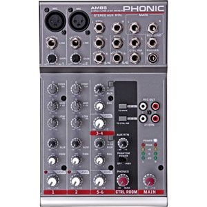 AM85(PHONIC)【税込】 フォニック コンパクトミキサー PHONIC 2-Mic/Line 2-Stereo Compact Mixer AM85 [AM85PHONIC]【返品種別A】...
