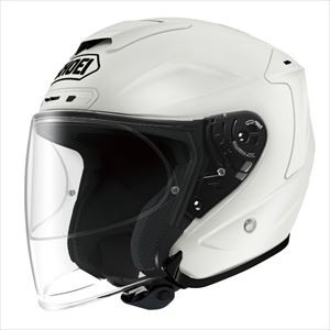 J-FORCE4-LWH-XL【税込】 SHOEI ジェットヘルメット(ルミナスホワイト)[XL] SHOEI J−FORCE4 [SJF4LWHXL]【返品種別A】【送料無料】【RCP】